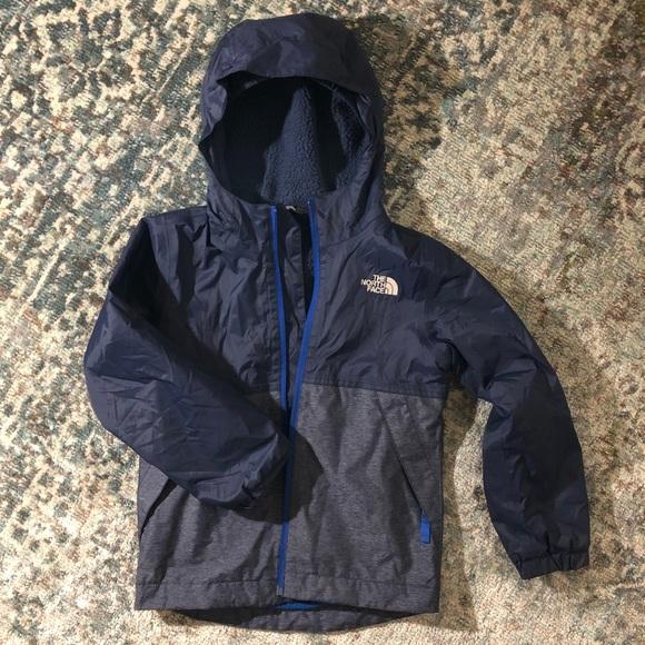 7f574fda6 Boys size XS navy blue The North Face jacket